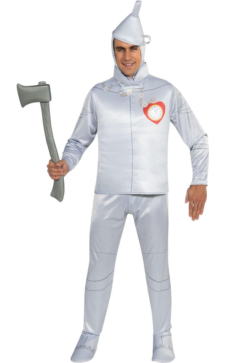 Wizard of Oz Tin Man Mens Fancy Dress Costume