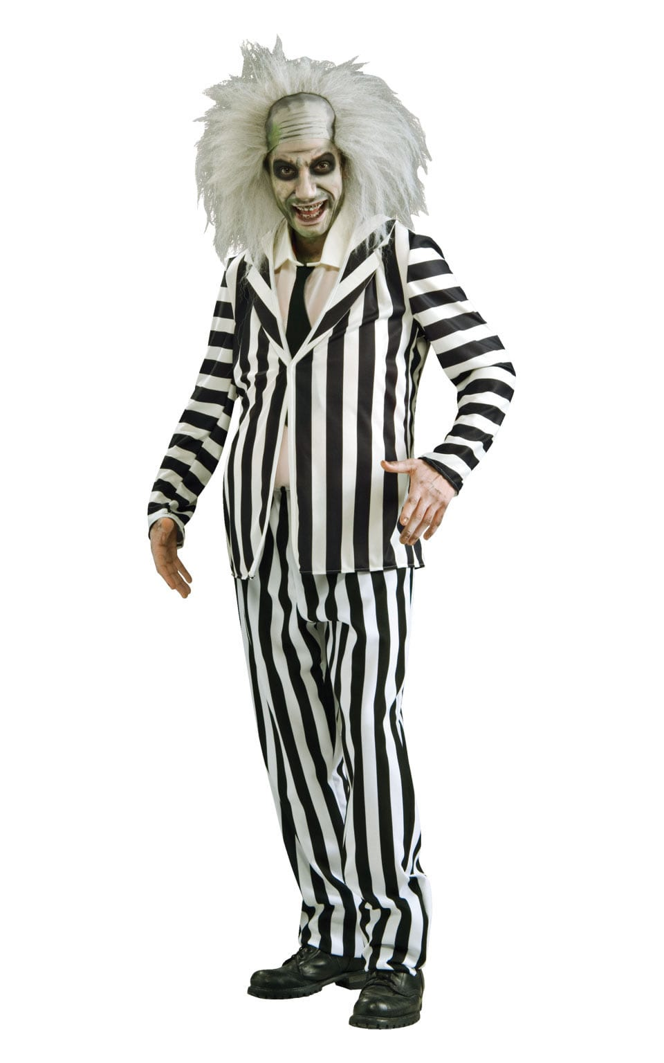 Beetlejuice Classic Mens Fancy Dress Costume