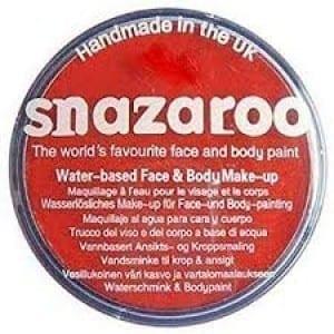 Snazaroo Water Based Facepaint Red 18ml