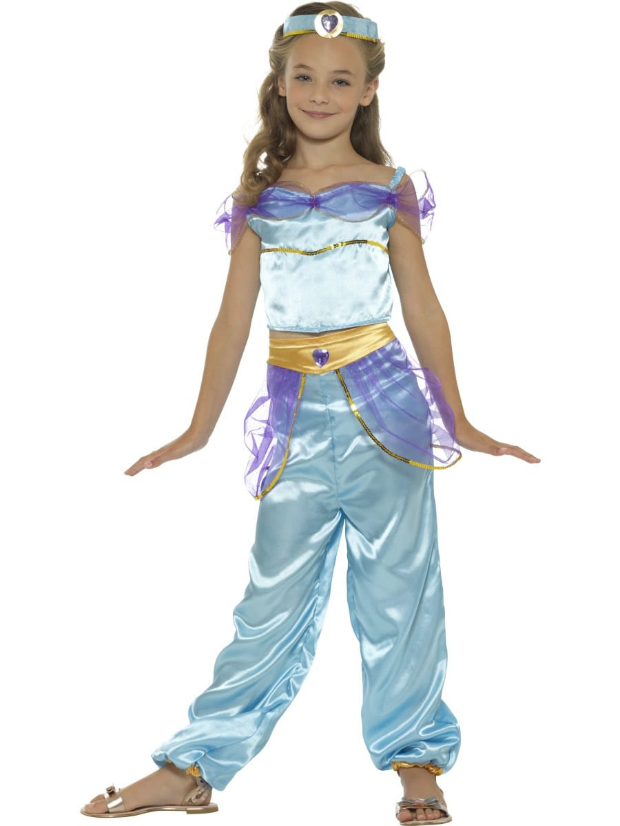 Arabian Princess (Jasmine) Children's Fancy Dress Costume