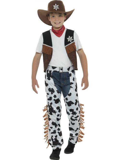 Texan Cowboy Children's Fancy Dress Costume
