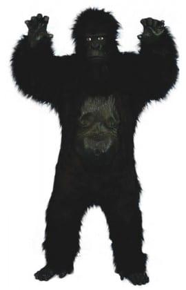 Deluxe Gorilla Mens Fancy Dress Costume