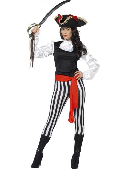 Pirate Lady Ladies Fancy Dress Costume