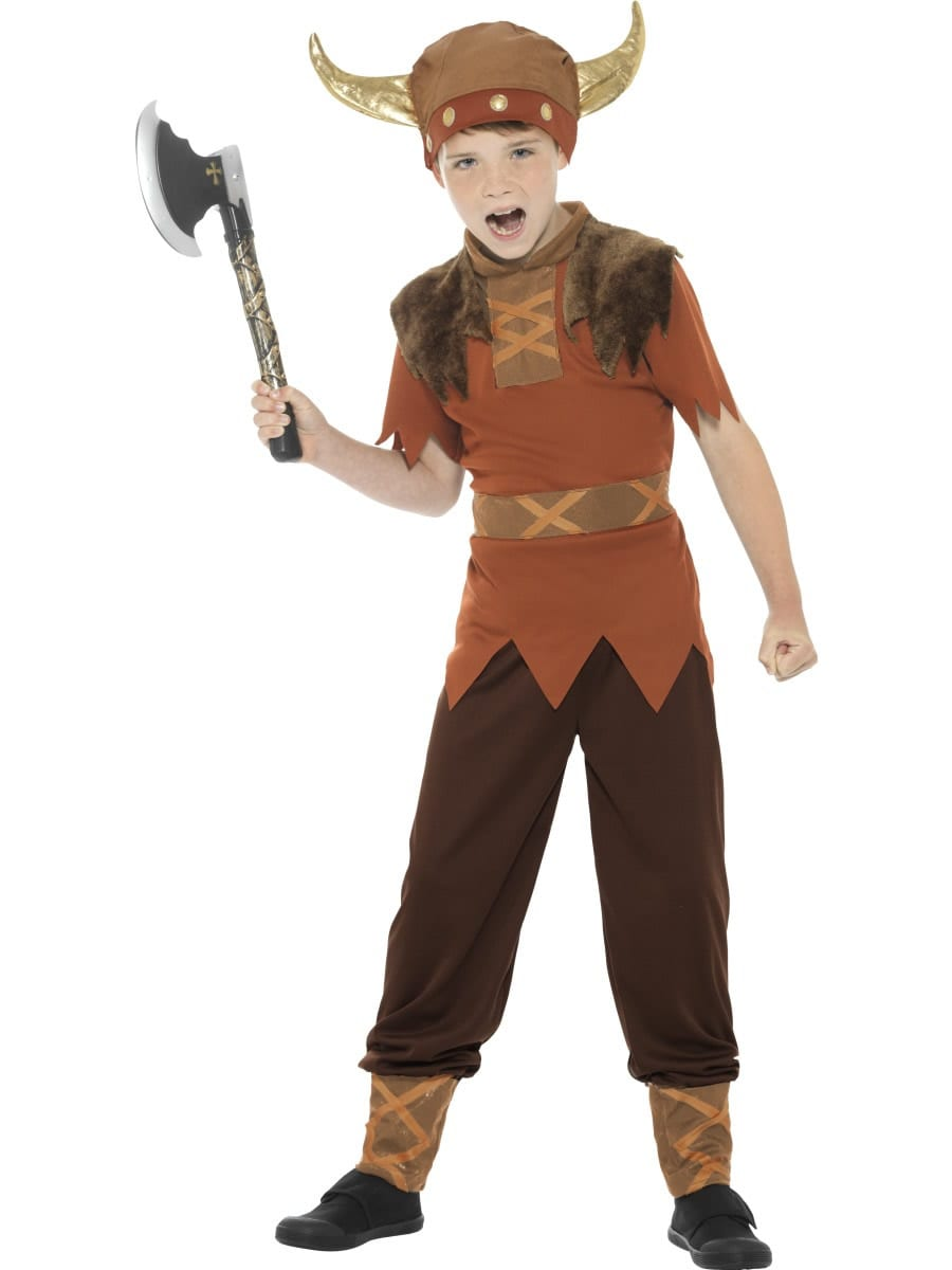 Viking Boy Children's Fancy Dress Costume