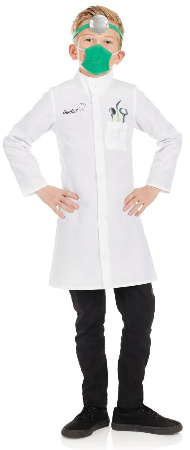 Dentist Children's Fancy Dress Costume