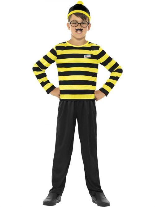Where's Wally Odlaw Children's Fancy Dress Costume