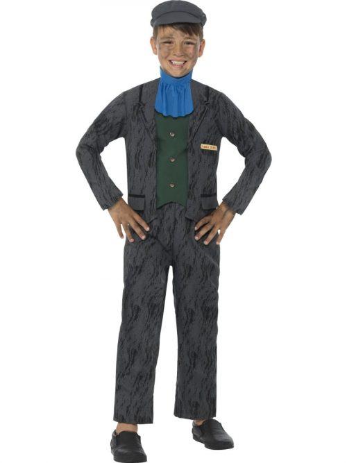 Horrible Histories Miner Children's Fancy Dress Costume