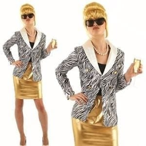 Lady Fabulous (Patsy) Ladies Fancy Dress Costume-0