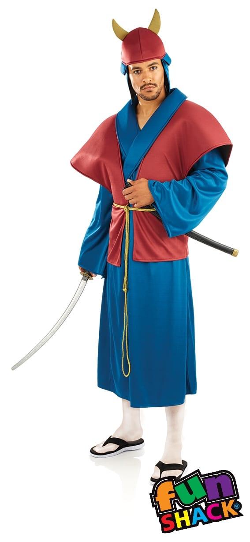 Samurai Men's Fancy Dress Costume