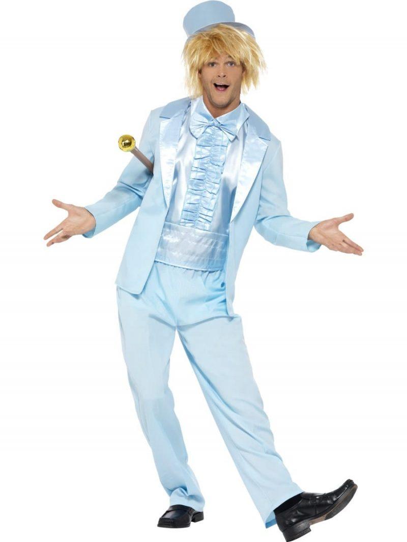 90's Stupid Tuxedo Blue (Dumb & Dumber) Men's Fancy Dress Costume