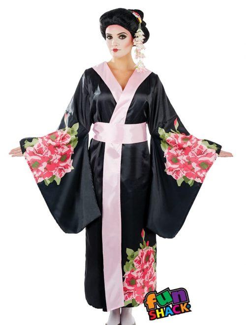 Geisha Ladies Fancy Dress Costume