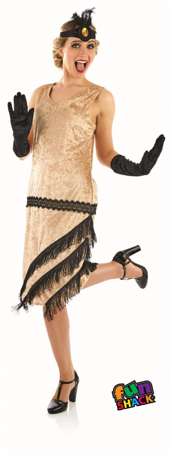 20's Charleston Girl Ladies Fancy Dress Costume