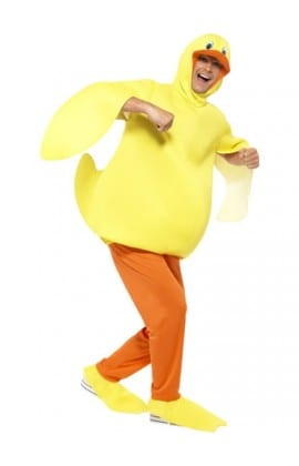 Duck Animal Adult Fancy Dress Costume