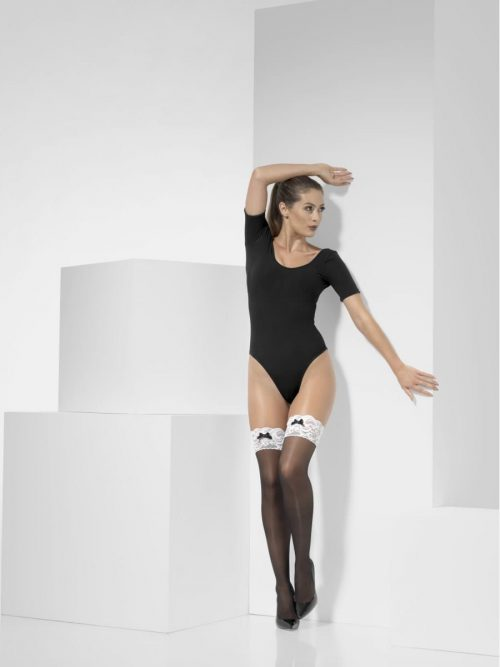 French Maid Hold-Up Stockings