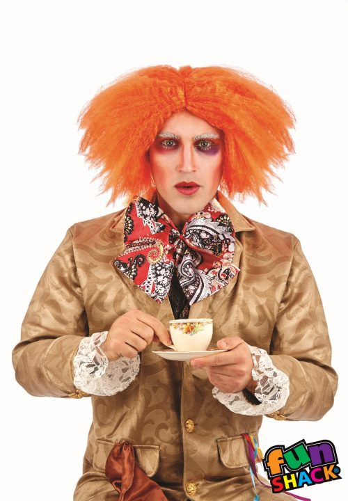 Ginger Curly (Mad Hatter) Wig