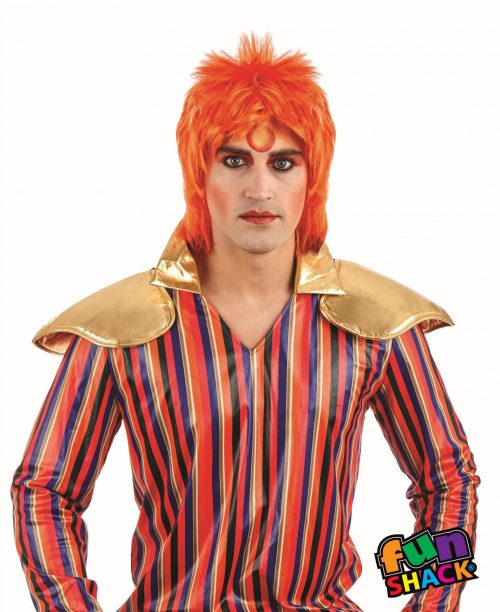 Ginger Glam Rock (Bowie) Wig