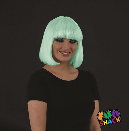 Bobbed Glo in the Dark Wig