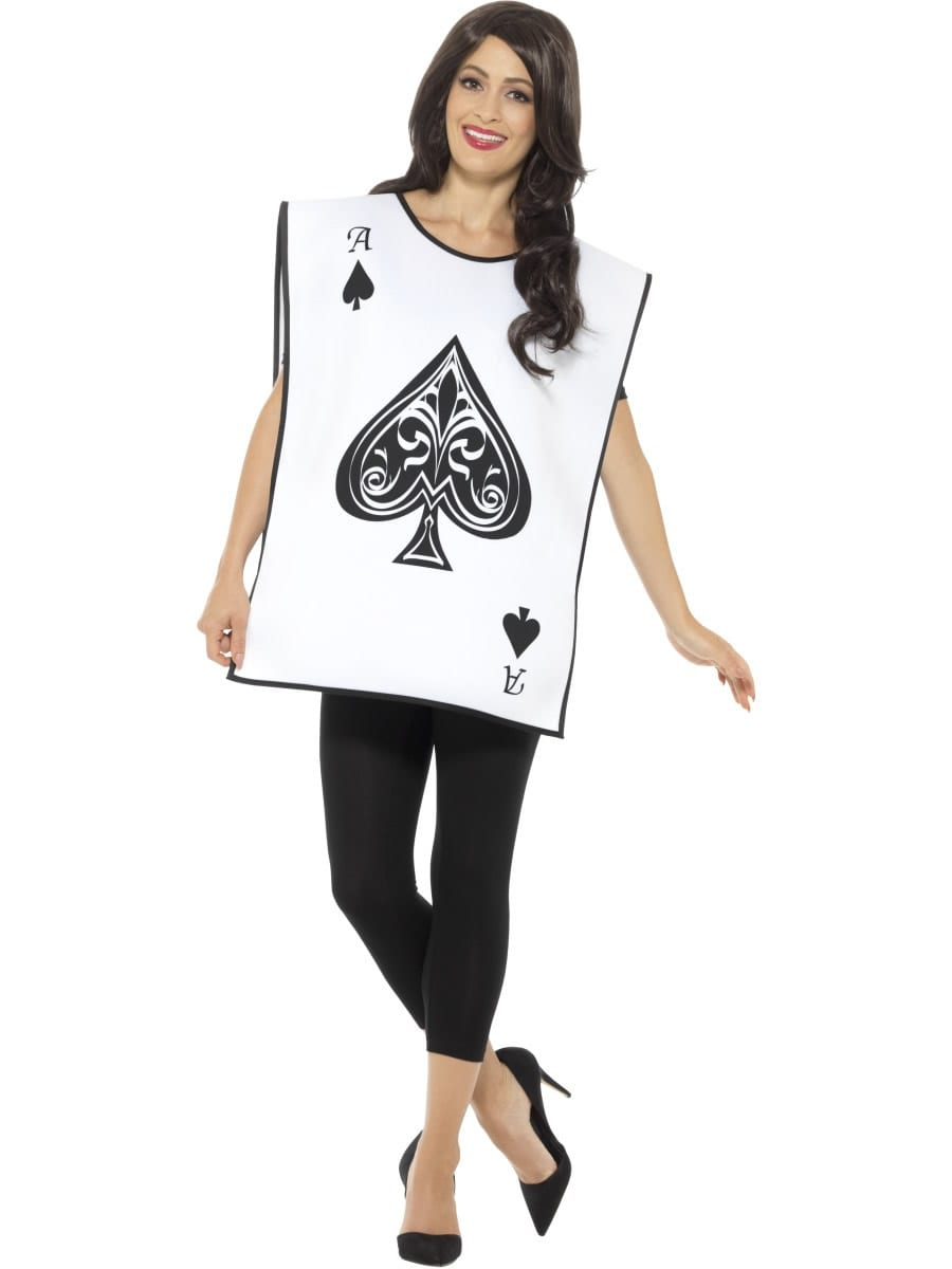 Carded Guard (Ace of Spades) Unisex Fancy Dress Costume
