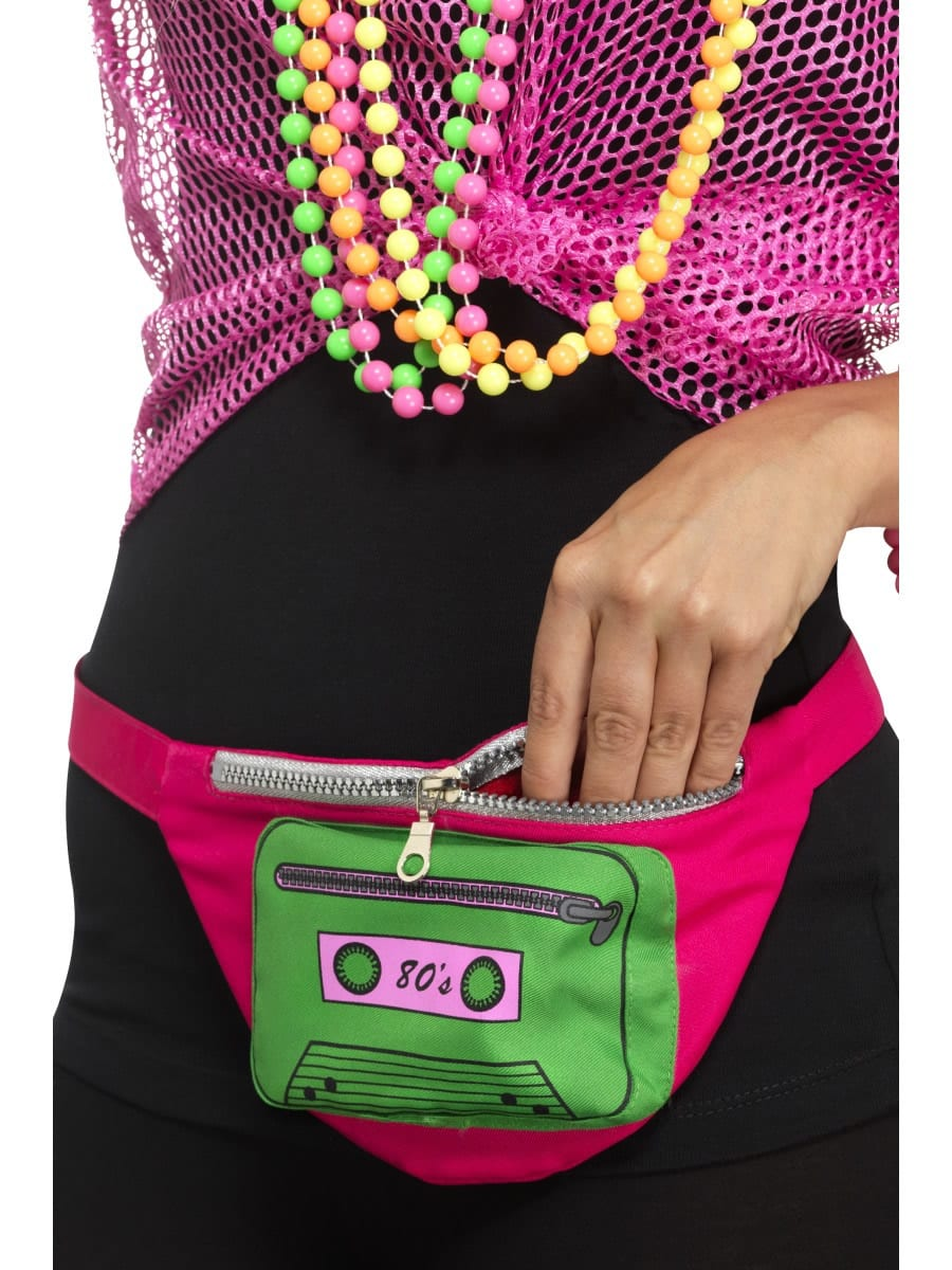 80's Bumbag, Multi-Coloured