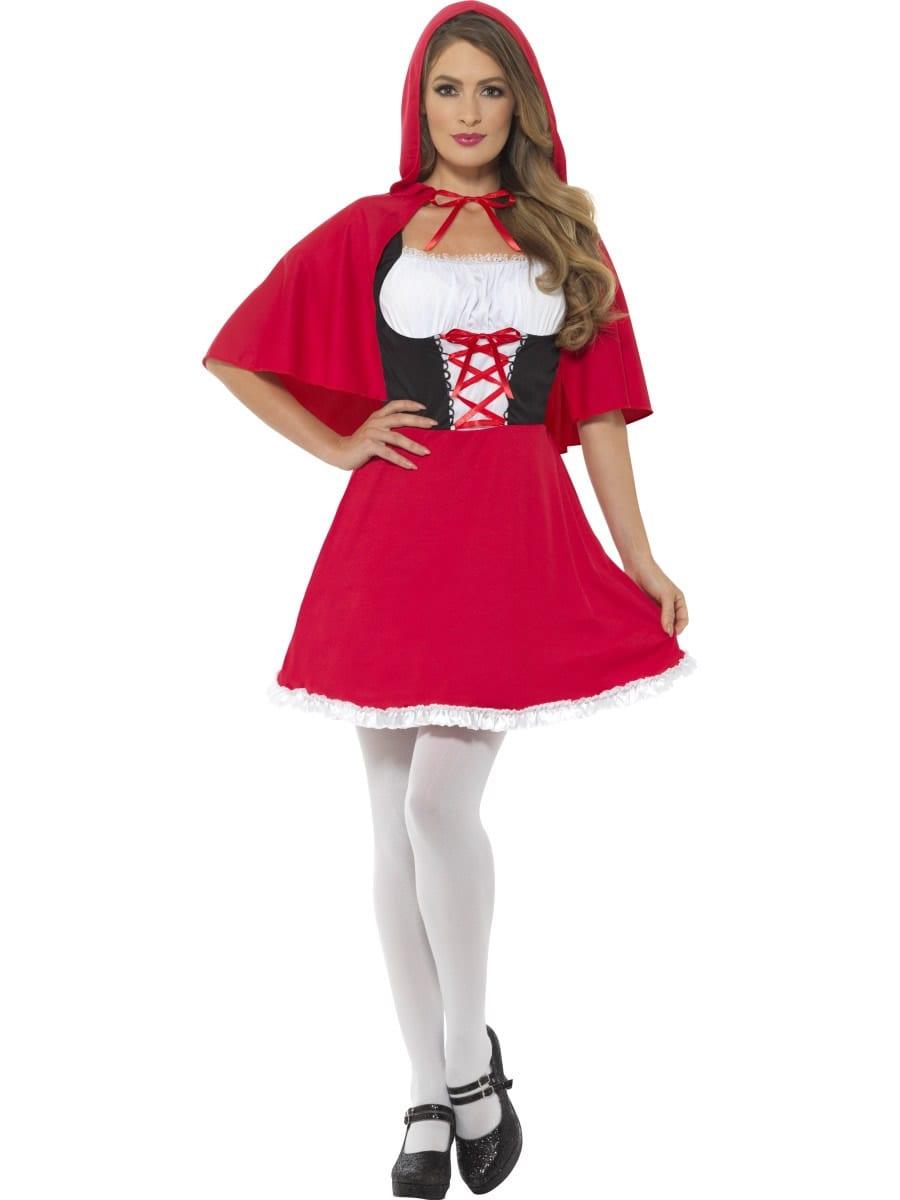 Red Riding Hood Ladies Fancy Dress Costume