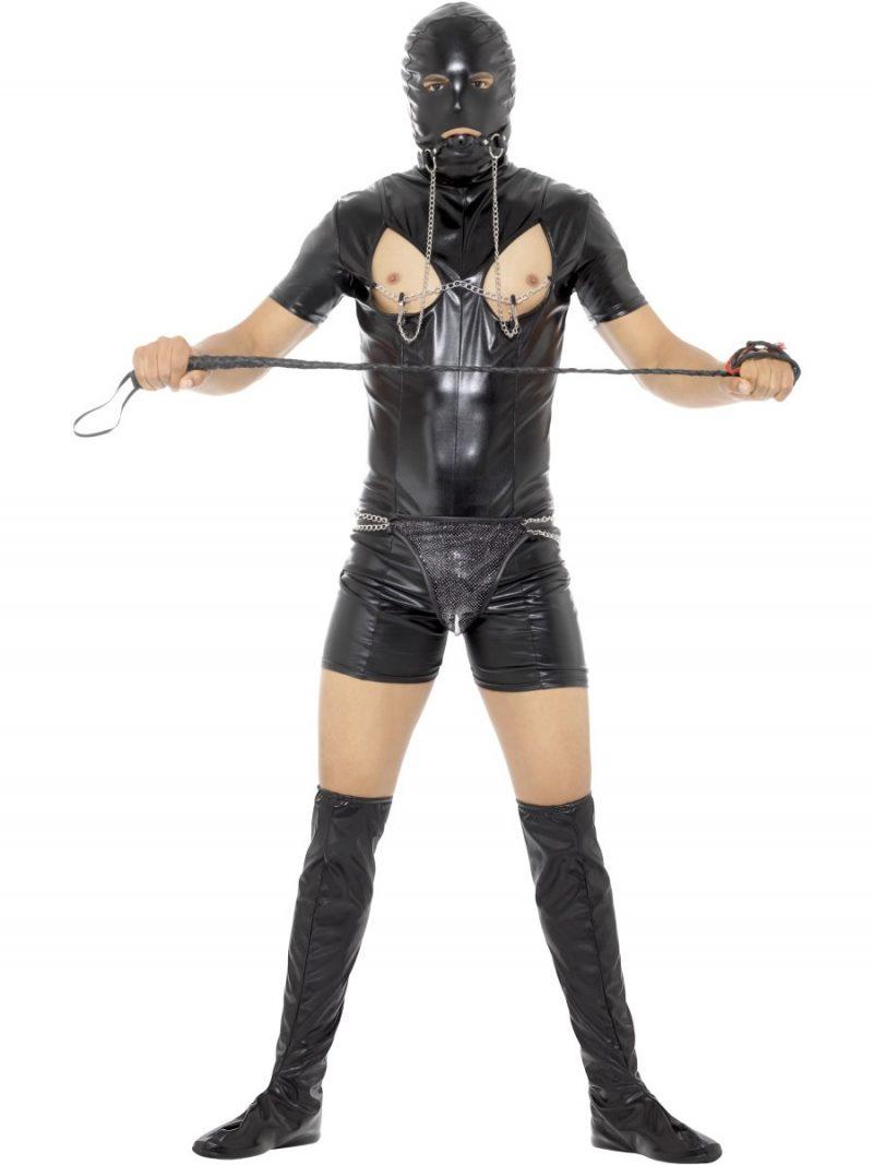 Bondage Gimp Men's Fancy Dress Costume