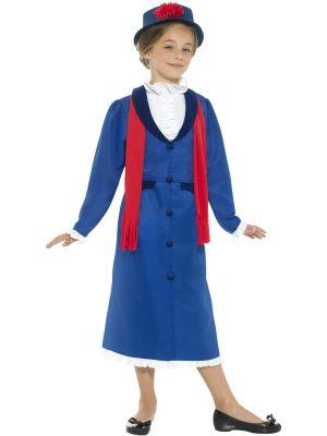 Victorian Nanny Children's Fancy Dress Costume