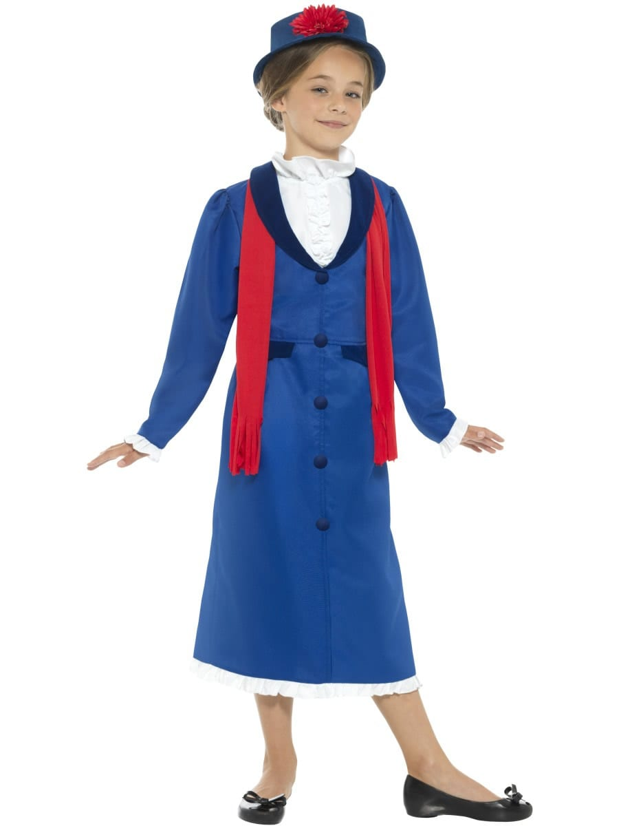 Victorian Nanny Children's Fancy Dress Costume