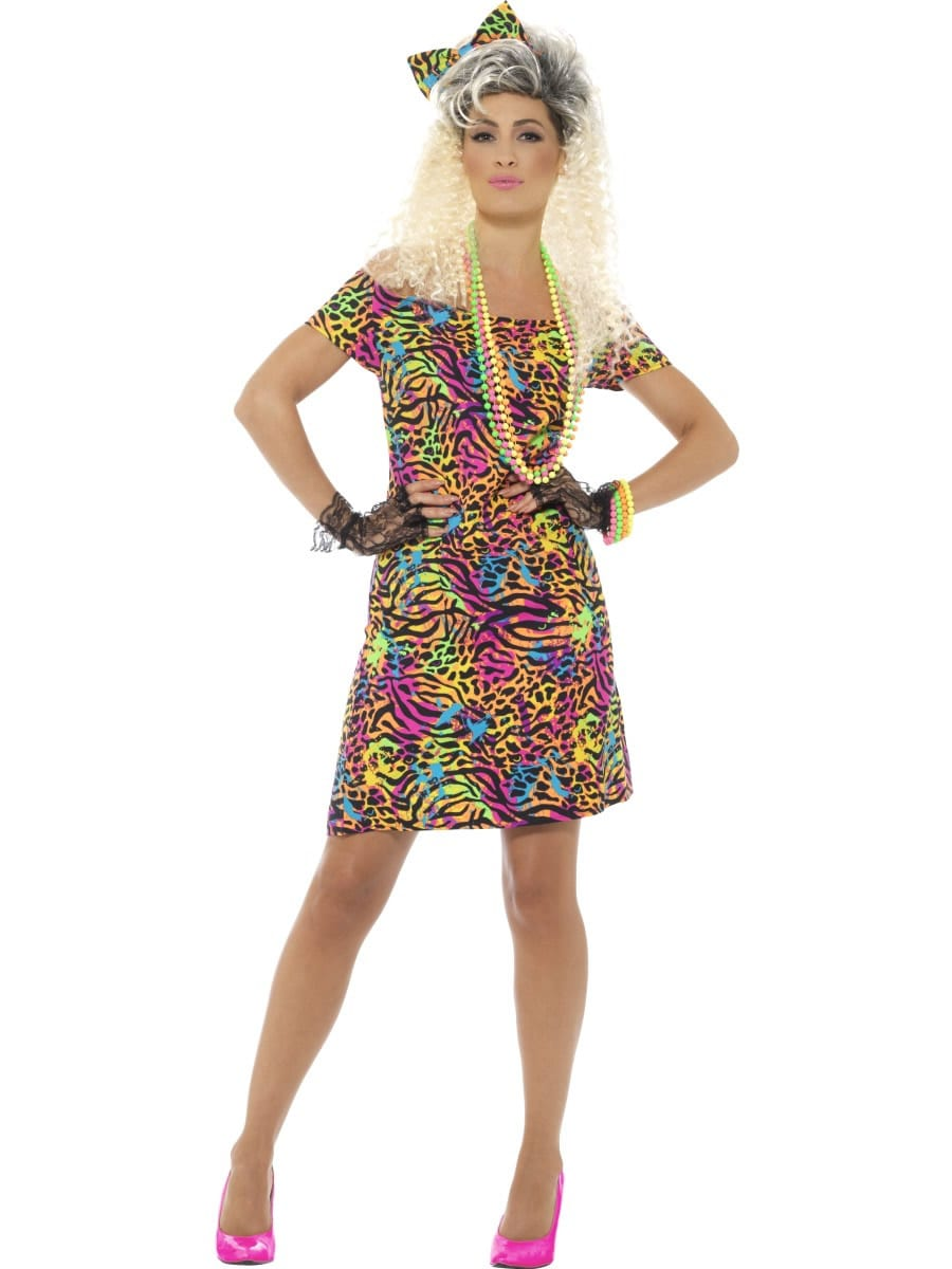 80's Party Animal Ladies Fancy Dress Costume