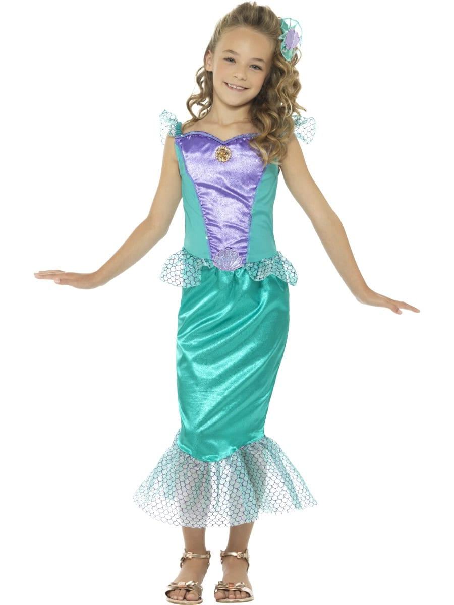 Deluxe Mermaid (Ariel) Children's Fancy Dress Costume