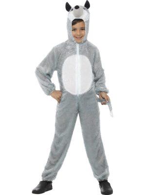 Wolf Children's Unisex Fancy Dress Costume