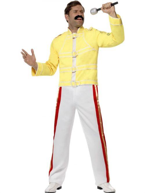 Queen Freddie Mercury Men's Fancy Dress Costume