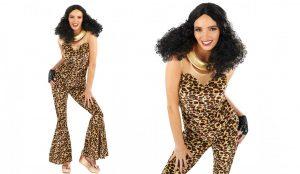 90's Pop Girl (Scary Spice) Ladies Fancy Dress Costume