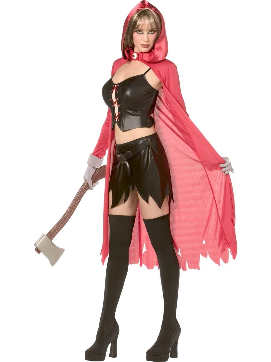 Rebel Toons Red Riding Hood Ladies Fancy Dress Costume