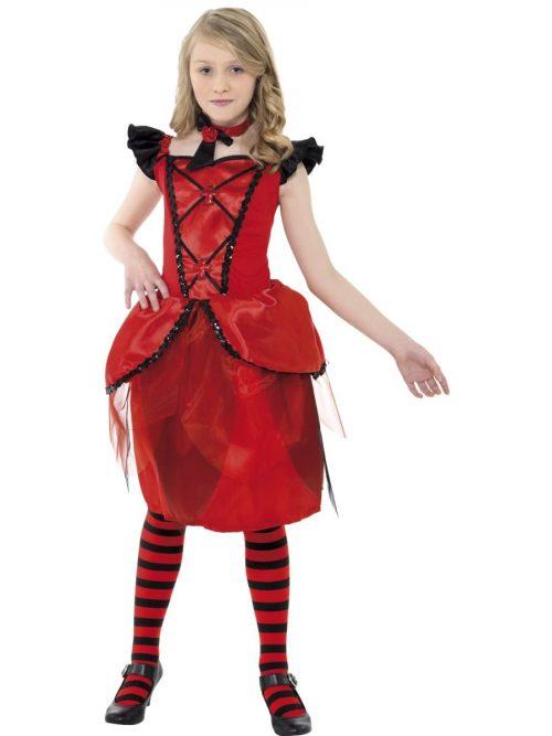 Vampire Fairy Children's Halloween Fancy Dress Costume