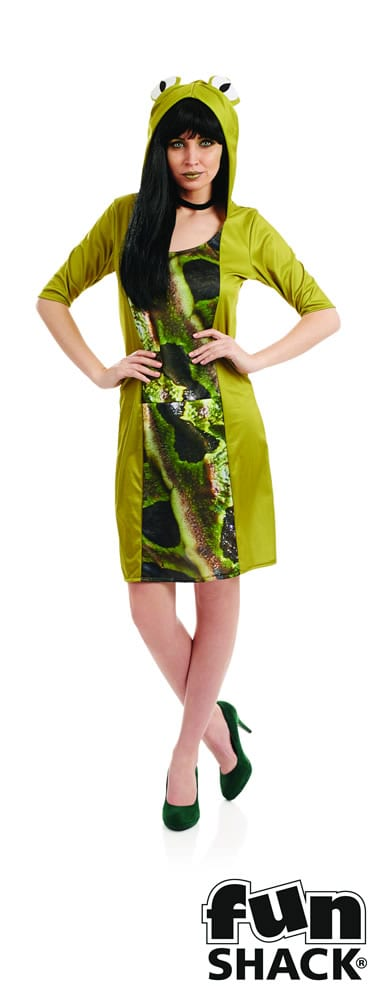 Frog Ladies Fancy Dress Costume