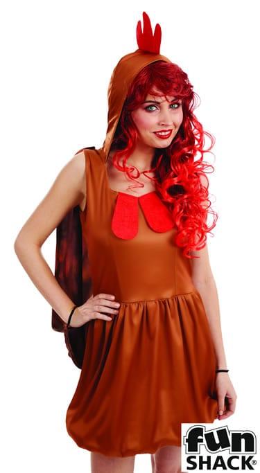 Hen Ladies Fancy Dress Costume