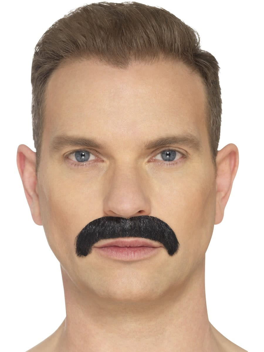 The Horseshoe Moustache, Black