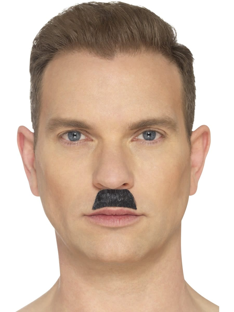 The Toothbrush Moustache, Black
