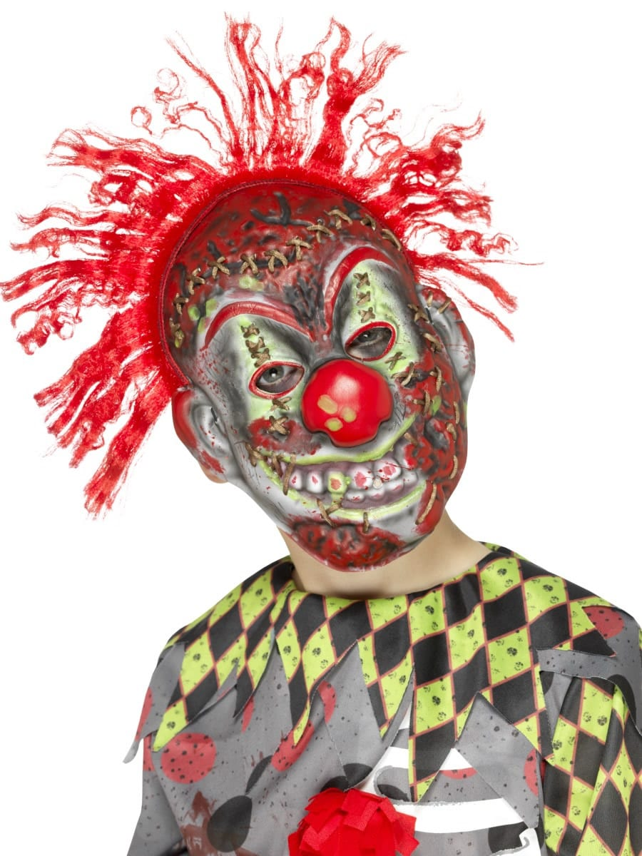 Twisted Clown Mask, Child's