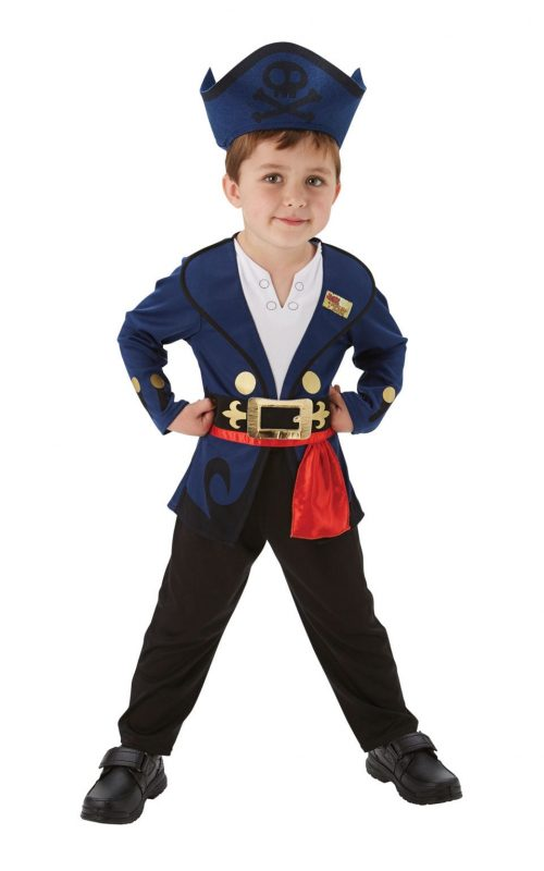 Jake and the Netherland Pirates Children's Fancy Dress Costume