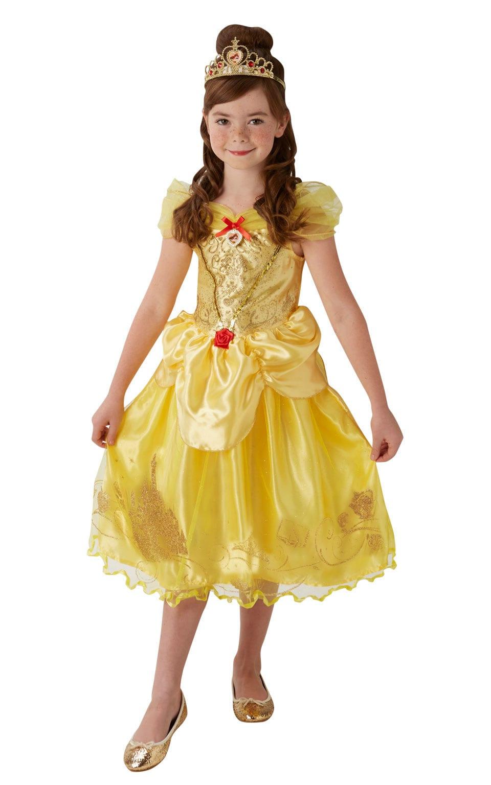 Disney Princess's Storyteller Golden Belle Children's Fancy Dress Costume
