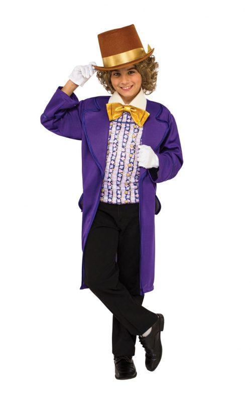 Willy Wonka Children's Fancy Dress Costume