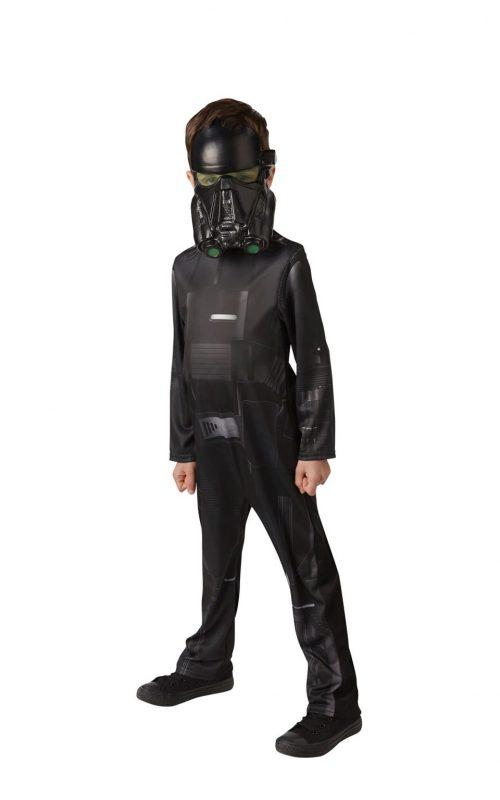 Star Wars Rogue One Death Trooper Children's Fancy Dress Costume