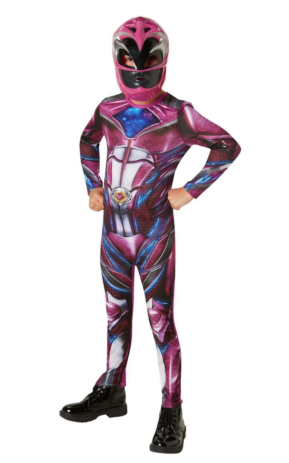 Power Ranger Movie Pink Ranger Classic Children's Fancy Dress Costume