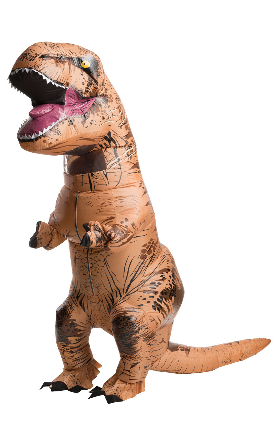 Inflatable T-Rex Dinosaur Men's Fancy Dress Costume