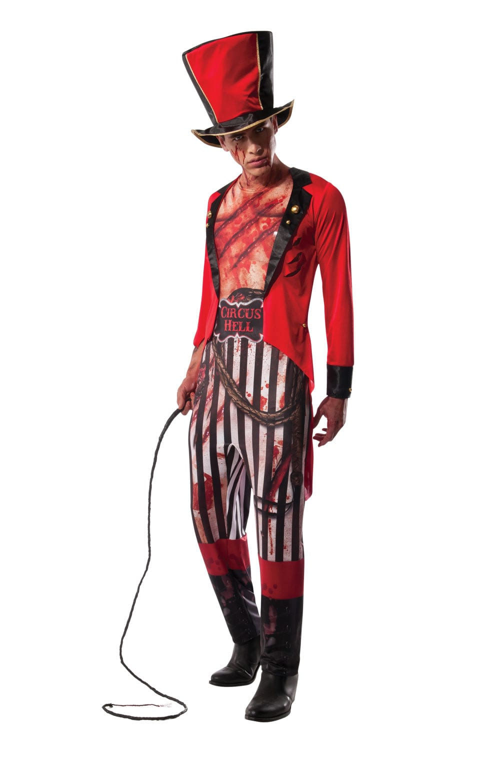 Circus Hell Lion Tamer Men's Halloween Fancy Dress Costume