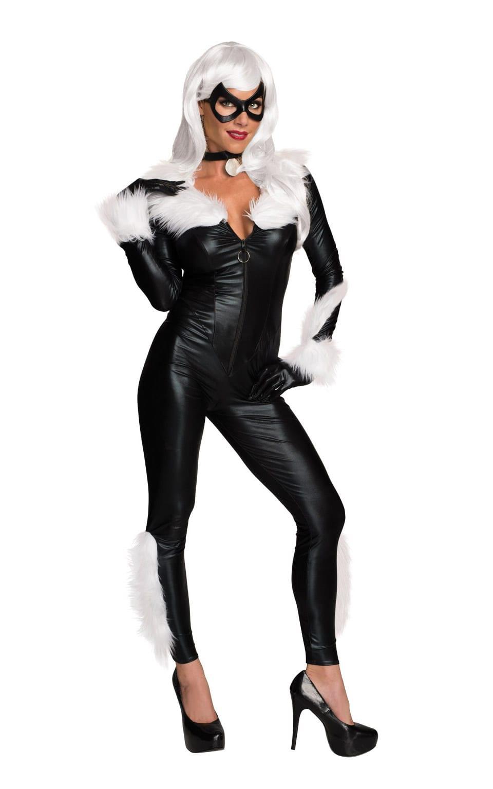 Secret Wishes Marvel Black Cat Ladies Fancy Dress Costume