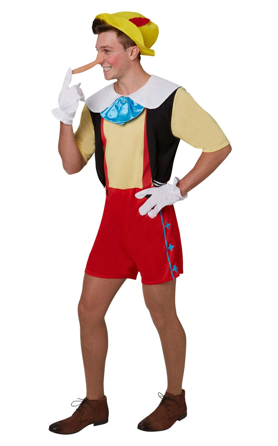Disney's Pinnochio Men's Fancy Dress Costume