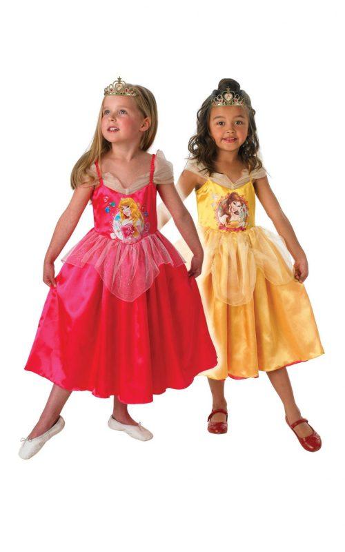 Disney Princess's Sleeping Beauty to Golden Belle Reversible Children's Fancy Dress Costume