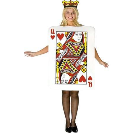 Queen of Hearts Novelty Fancy Dress Costume